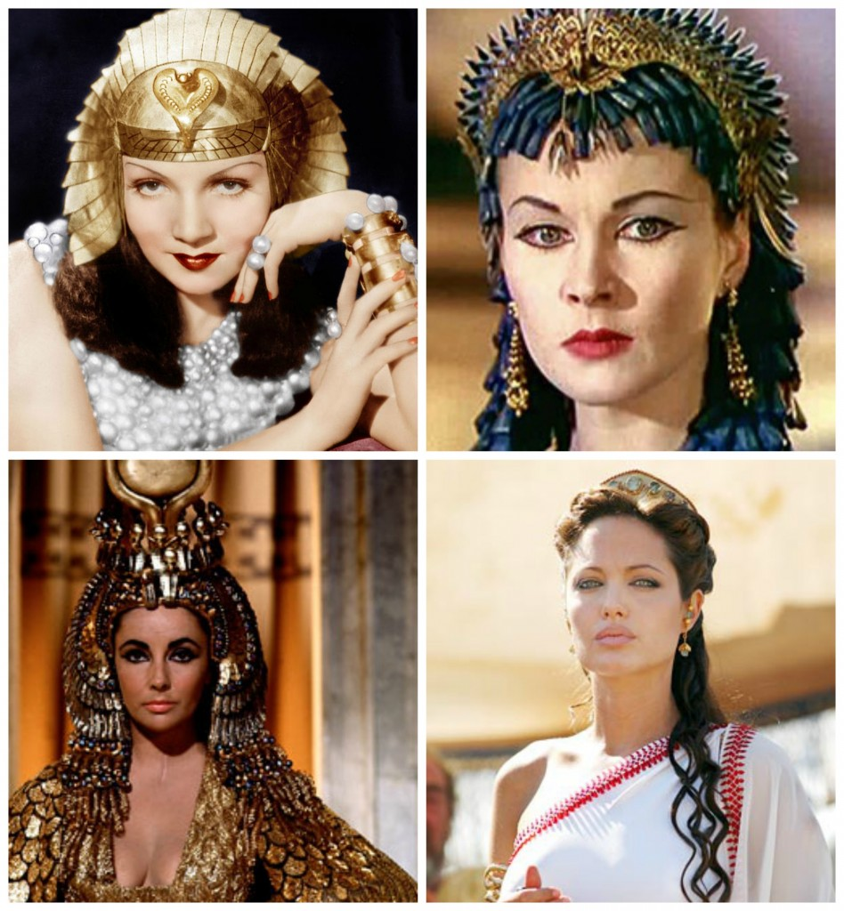 Faces of Cleopatra?