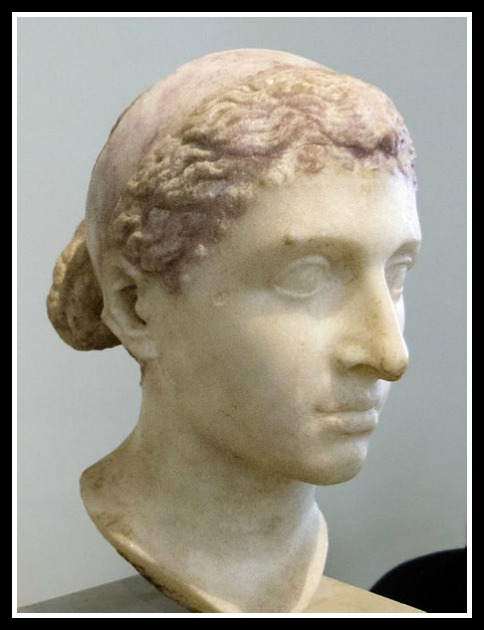 Bust of Cleopatra VII, Altes Museum, Berlin