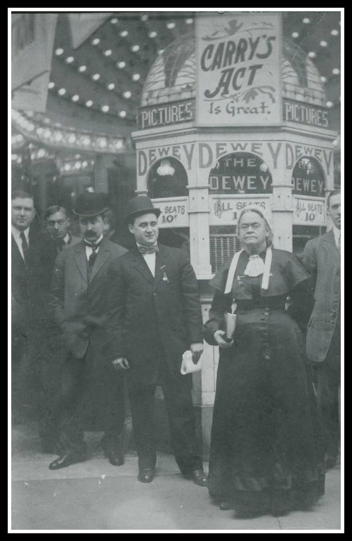 Vaudville days. (Courtesy Kansas Historical Society)
