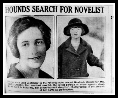 Who best to stage her own disappearance than a mystery writer? Or was it amnesia from a car accident? What of the maaaany clues that were left behind and ignored? Was this all a publicity stunt?