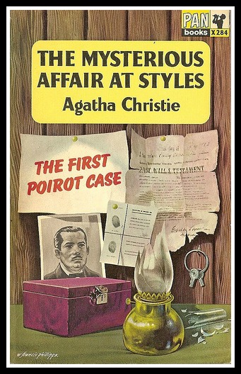 Agatha's first novel, published in 1920, four years after it was written. (Remember that aspiring novelists!)