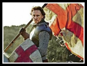 Henry V...well, Tom Hiddleston as Henry V- close enough to the real thing, right?