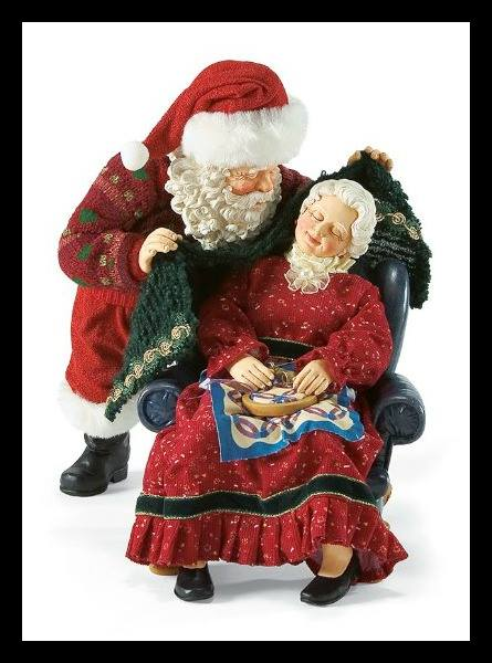 Mrs Claus- subject of literature, film and art...but who was she? (Photo Courtesy Enesco)