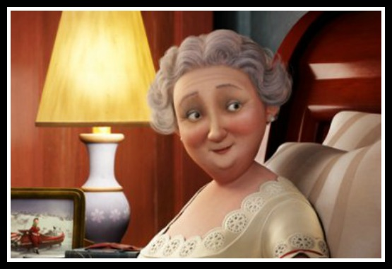 Mrs Claus from Arthur Christmas, 2011