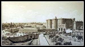 The Bastille around the time of the French Revolution
