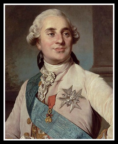 Louis XVI. He gave her this...