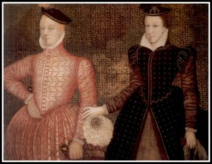 Mary Stuart and James Darnley, quite a fetching pair