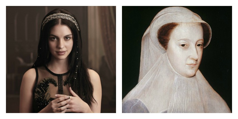 Can you pick out the historically correct Mary Queen of Scots from the CW Show, Reign Mary Queen of Scots? And that's all you need to know about Reign.