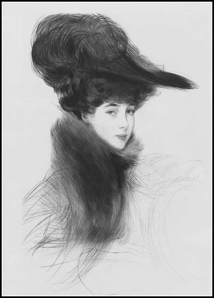 Consuelo Vanderbilt, The Duchess of Marlborough by Helleu