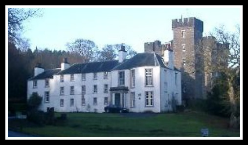 Dalguise House, one of the homes the family summered in.