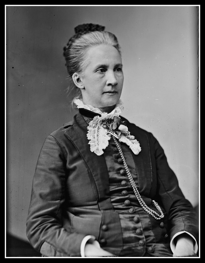 Belva Lockwood, pioneer in the field of law, and second woman candidate for President.