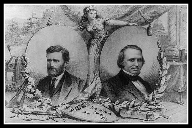 Ulysses S. Grant won without a fight from Victoria (or Susan B. Anthony's vote)
