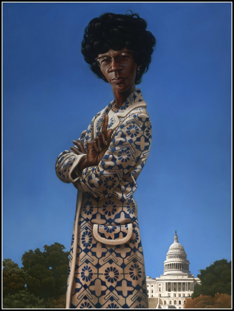 Kadir Nelson, portrait in US House of Representatives