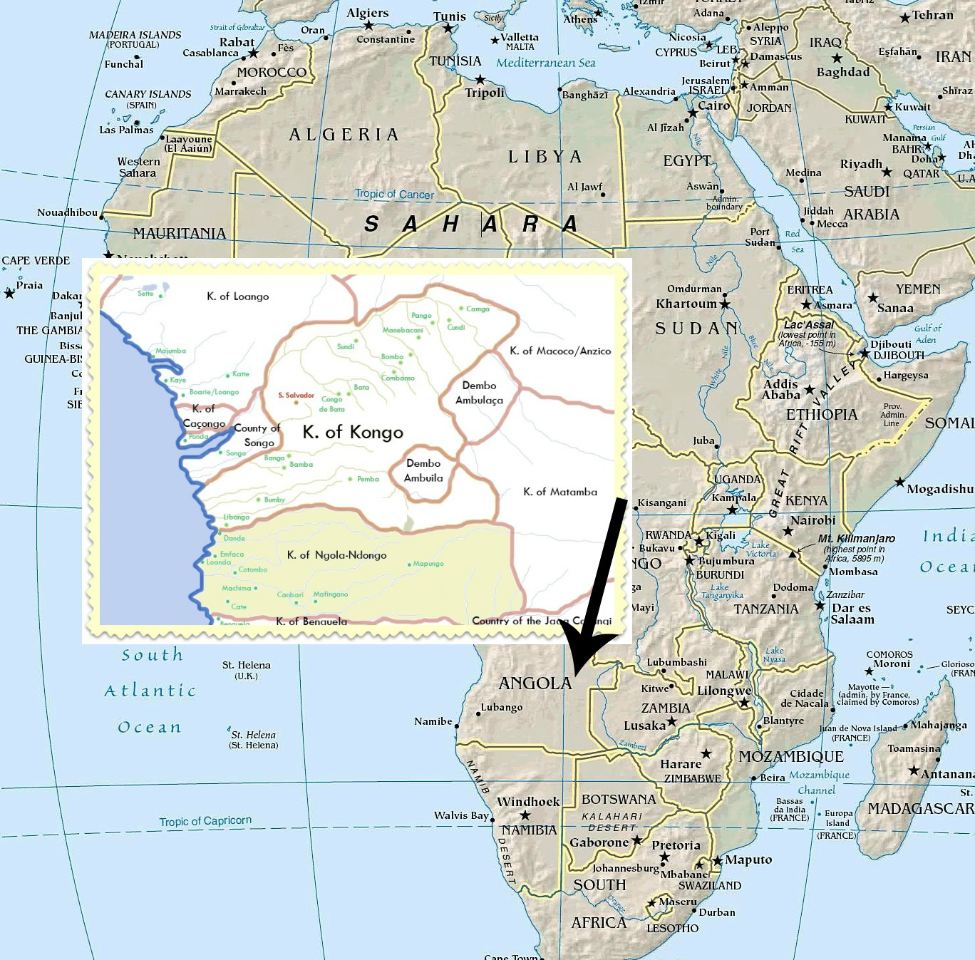 redotwoafrica_geography_political_map