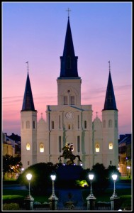 Marie's home church...right?! St. Louis Cathedral