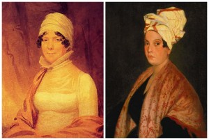 We talk about cool stuff like the possible cultural appropriation of Marie's style (forced on her) with Dolley Madison's (a choice.)