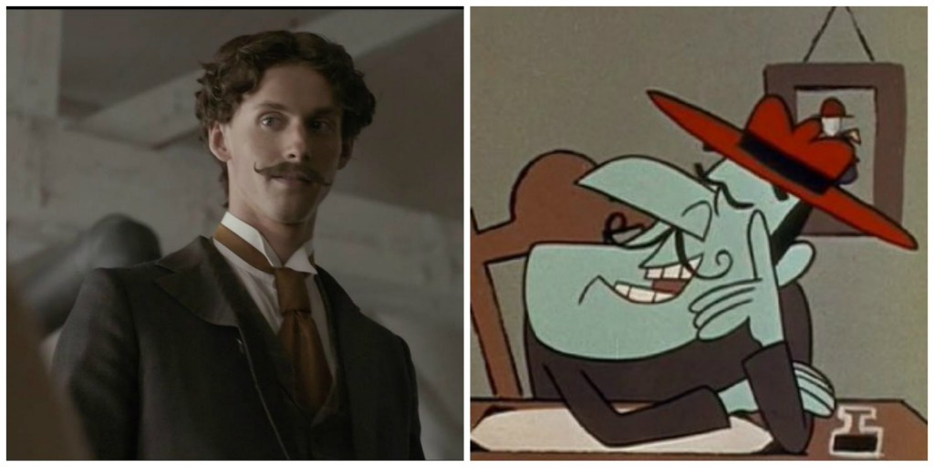 Mr Phillips and Snidely Whiplash: separated at birth?